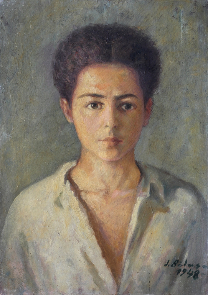 Self Portrait aged 15