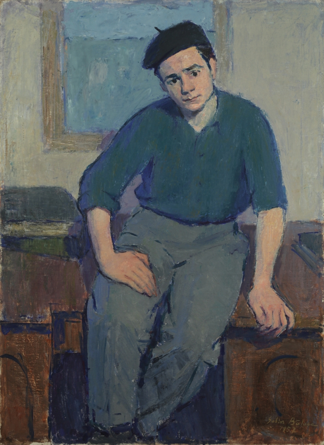 Portrait of a Student named Modalca
